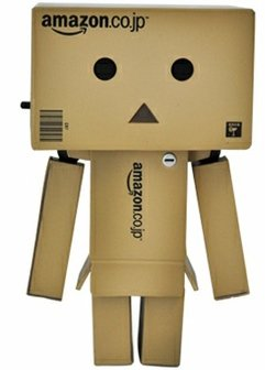 Danboard - Mini Amazon.co.jp version figure by Enoki Tomohide, produced by Kaiyodo. Front view.