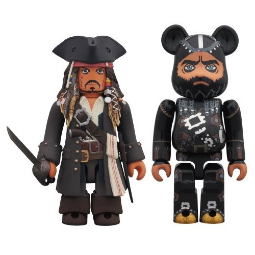 Jack Sparrow & Blackbeard (On Stranger Tides) 2 pack