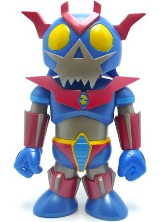 Toyer-Z figure by Frank Kozik, produced by Toy2R. Front view.