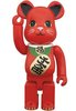 Maneki Neko Be@rbrick 400% - Beckoning Cat Red