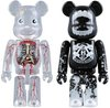 Dr. Romanelli & Butcher Block - Halloween Be@rbrick '08 Set