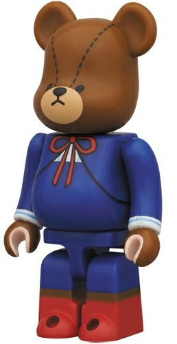 The Bears School - Animal Be@rbrick Series 25 figure by Bandai, produced by Medicom Toy. Front view.