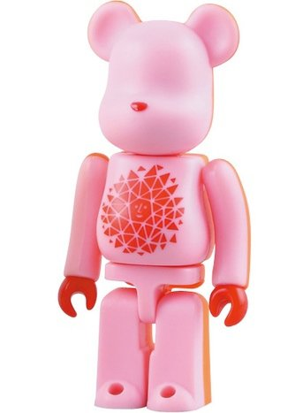 Alexander Girard - Secret Artist Be@rbrick Series 17 figure by Alexander Girard, produced by Medicom Toy. Front view.