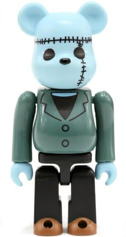 Horror Be@rbrick Series 2 figure, produced by Medicom Toy. Front view.