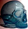 Skull Head 1/1 - Clear Blue
