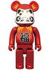 Daruma Be@rbrick 400% - Red Plating