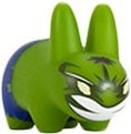 Hulk Labbit figure by Marvel, produced by Kidrobot. Front view.