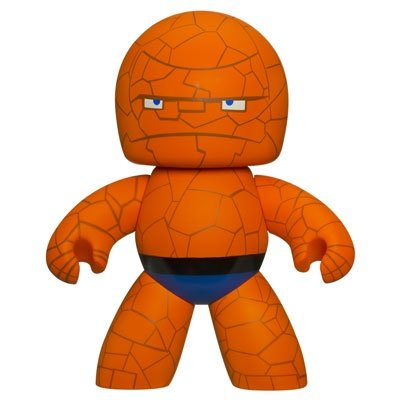 Thing figure, produced by Hasbro. Front view.