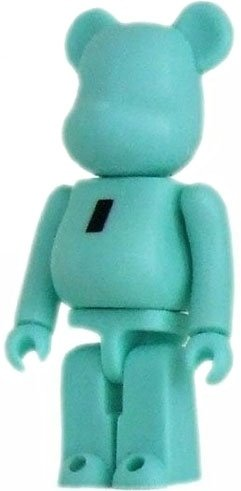 Basic Be@rbrick Series 16 - I figure, produced by Medicom Toy. Front view.