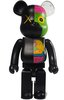 Dissected Companion Be@rbrick 400% - Black