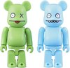 Ice-Bat & Ox Be@rbrick Set 100%
