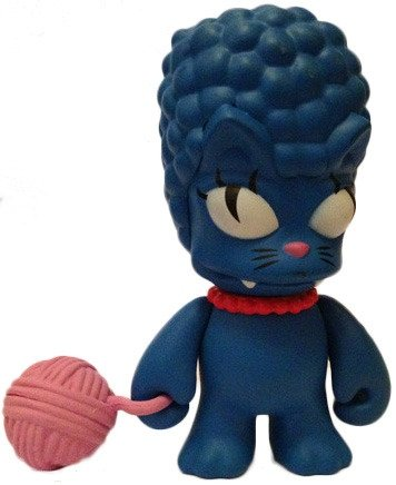 Kitty Marge figure by Matt Groening, produced by Kidrobot. Front view.