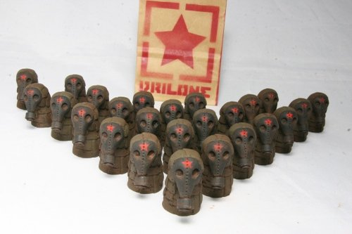 Soviet Military Micro Drone Figure By Drilone Front View