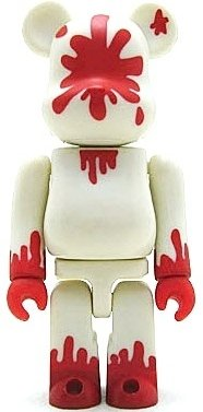 Hiroto Komoto - Artist Be@rbrick Series 1 figure by Hiroto Komoto, produced by Medicom Toy. Front view.