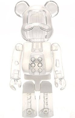 Cocobat Joe - Secret Animal Be@rbrick Series 8 figure by Pushead, produced by Medicom Toy. Front view.