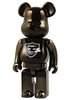 Nitraid Be@rbrick 400% - Black Chrome