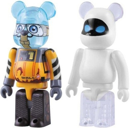 Wall•E & Eve Be@rbrick 100% - 2 pack