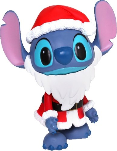 Stitch (Santa Version) figure by Disney, produced by Hot Toys. Front view.