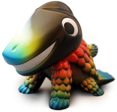 Ten-gallon - Bright Rainbow figure by Chima Group, produced by Chima Group. Front view.