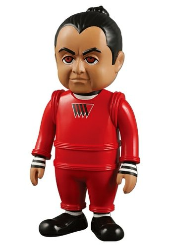Oompa Loompa - VCD No.82 figure by Warner Bros. Entertainment Inc., produced by Medicom Toy. Front view.