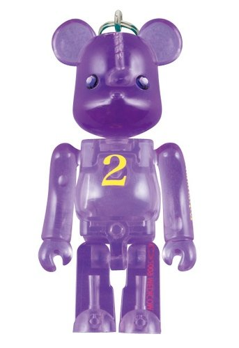 Birthday Be@rbrick 70% - 2 figure, produced by Medicom Toy. Front view.