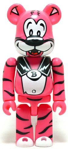 Animal Be@rbrick Series 14 figure by Ronnie Cutrone, produced by Medicom Toy. Front view.