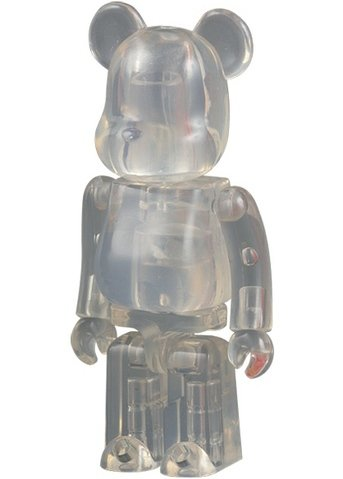 Jellybean Be@rbrick Series 12 figure, produced by Medicom Toy. Front view.