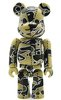 Bape Play Be@rbrick S2 - Light Brown Camo