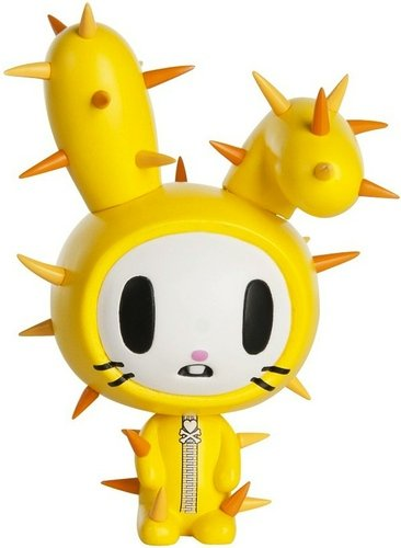 Truffle figure by Simone Legno (Tokidoki), produced by Tokidoki. Front view.