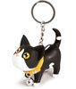 Black and White Keyring Kat