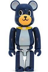 Dreaming Be@r Dog #3 - Secret Be@rbrick Series 10 figure by Play Set Products, produced by Medicom Toy. Front view.