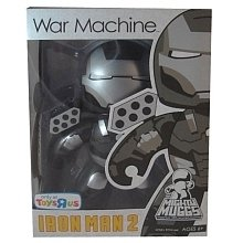 War Machine figure, produced by Hasbro. Front view.