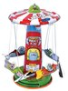 Rocket Ride Wind-Up Tin Toy