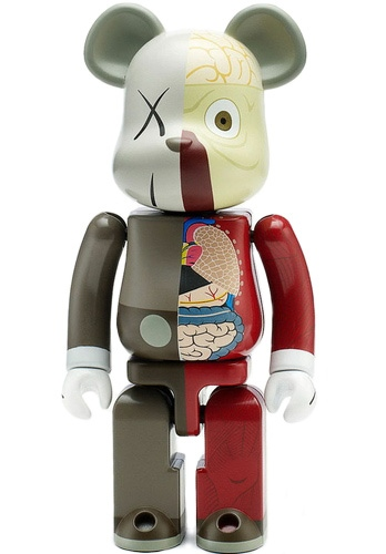 Dissected Companion Chogokin 200% Be@rbrick - Brown