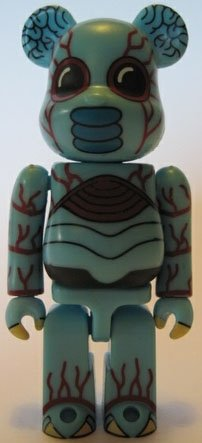 Metaluna Mutant Be@rbrick 100% figure, produced by Medicom Toy. Front view.