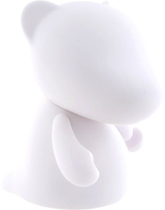 Mini Rooz figure, produced by Kidrobot. Front view.