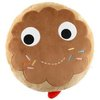 "Yummy Donut 12"" Brown Plush"