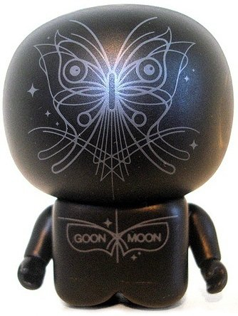 Goon Moon Unipo figure by Unklbrand, produced by Unklbrand. Front view.
