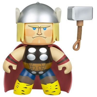 Thor figure, produced by Hasbro. Front view.