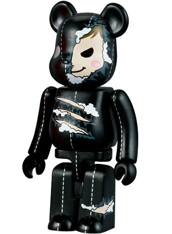 Horror Be@rbrick Series 10 figure by Ykt, produced by Medicom Toy. Front view.