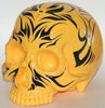 1/1 Skull Head 2010 Pinstriped Tiger Yellow