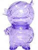 Pocket Mummy Boy - Clear Purple