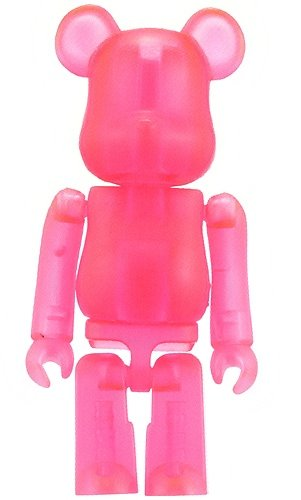 Jellybean Be@rbrick Series 4 figure, produced by Medicom Toy. Front view.