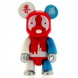 JCI Hong Kong Spirit Bear figure by Jci, produced by Toy2R. Front view.