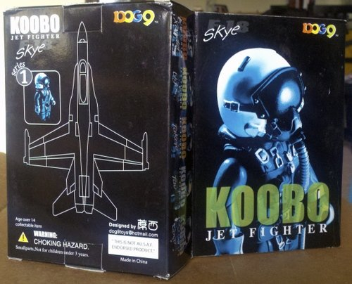 Skye F-18 pilot figure figure by Koobo Jet Fighter, produced by Koobo. Front view.