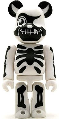 Balzac - Secret Horror Be@rbrick Series 7 figure by Balzac, produced by Medicom Toy. Front view.