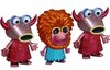 Muppets 3 Pack (Mahna Mahna & Snowths) - SDCC 2012