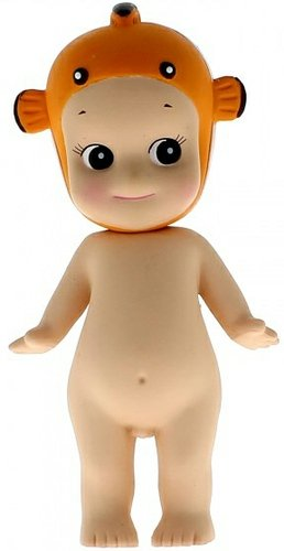 Sonny Angel - Clownfish figure by Dreams Inc., produced by Dreams Inc.. Front view.