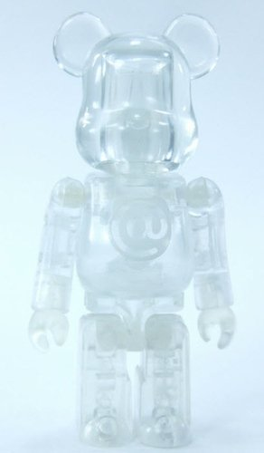 Unbreakable - Secret Artist Be@rbrick Series 14 figure by Unbreakable, produced by Medicom Toy. Front view.
