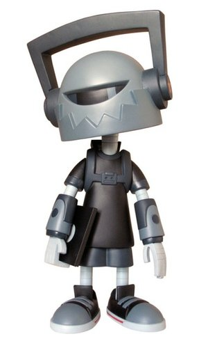 Hi-Def - OG Grey  figure by Kano, produced by Toyqube. Front view.